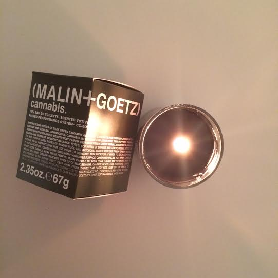 Light One Up! – Cannabis Candle (MALIN+GOETZ)