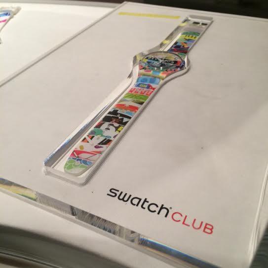 Gone #clubbing. – NYC Swatch Club Event