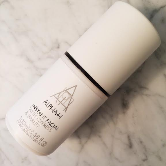 H is for Haute – ALPHA-H Instant Facial