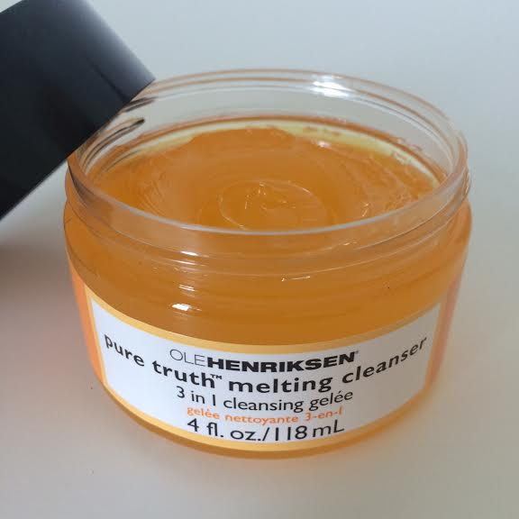 Having a Meltdown – NEW! Ole Henriksen Pure Truth Melting Cleanser