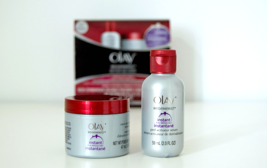 It Takes Two – Olay Microdermabrasion Treatment