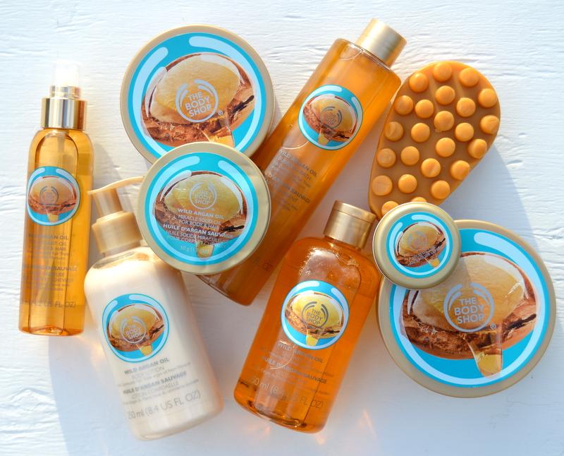 The Body Shop – Wild Argan Oil Body Care Collection