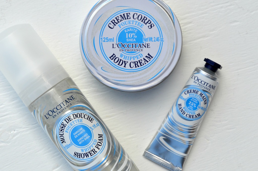 *NEW* L'OCCITANE Whipped Shea Butter Collection