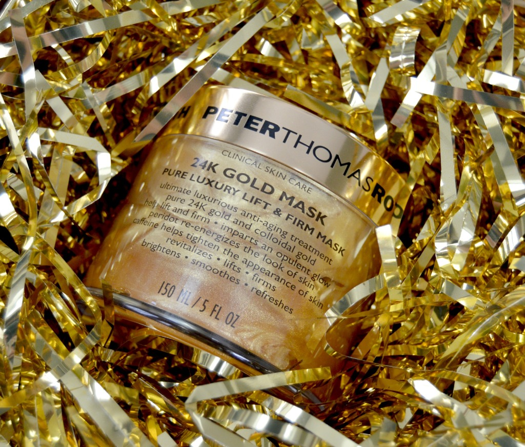 A Pot of Gold – Peter Thomas Roth 24K Gold Mask