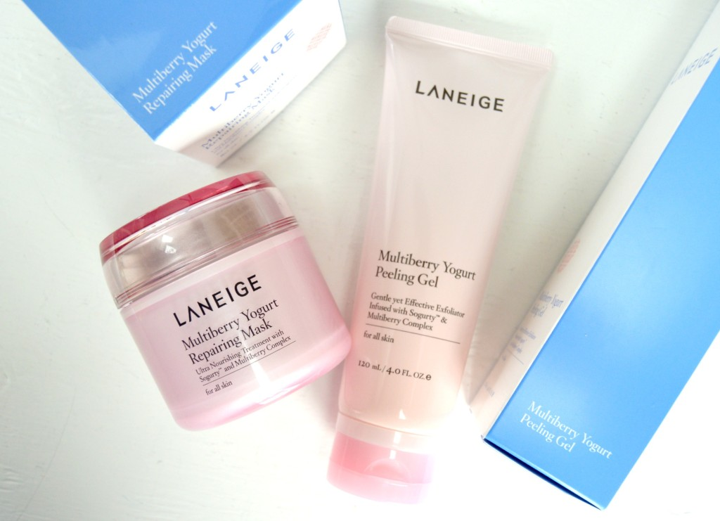 #Targeted – LANEIGE Multiberry Yogurt Peeling Gel & Repairing Mask