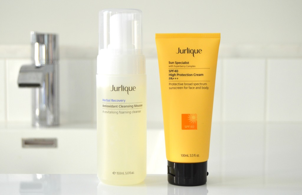 Jurlique Antioxidant Cleansing Mousse & SPF40 High Protection Cream PA+++