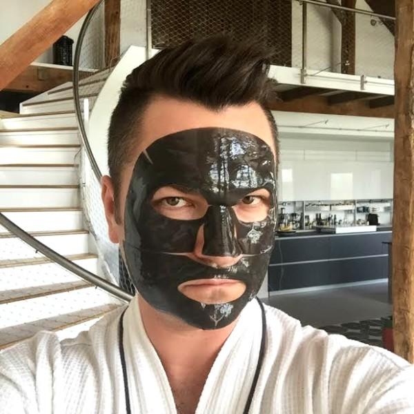 BOSCIA Hydrogel Masks: Charcoal, Vitamin C, Green Tea