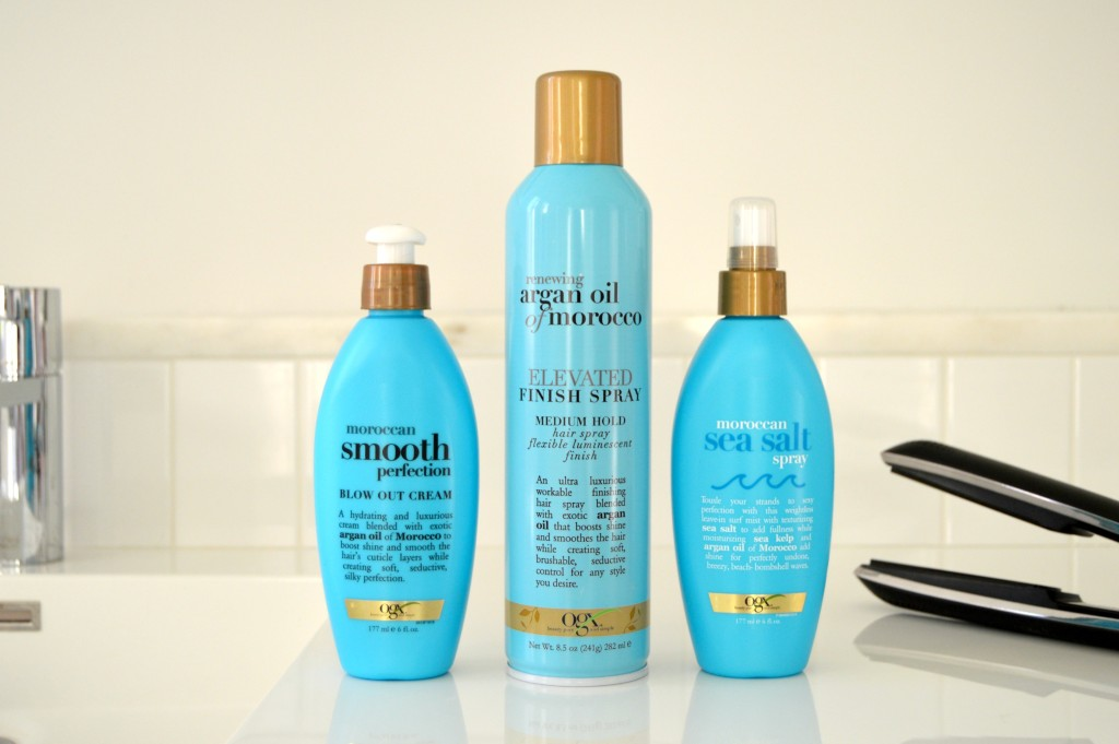 #BadAssHairDay with OGX Renewing Argan Oil or Morocco