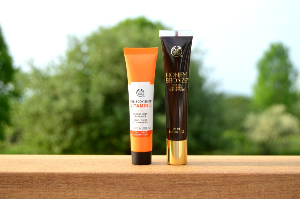 To Glow or To Bronze? The Body Shop Vitamin C Instant Glow Enhancer & Honey Bronze Face Gel