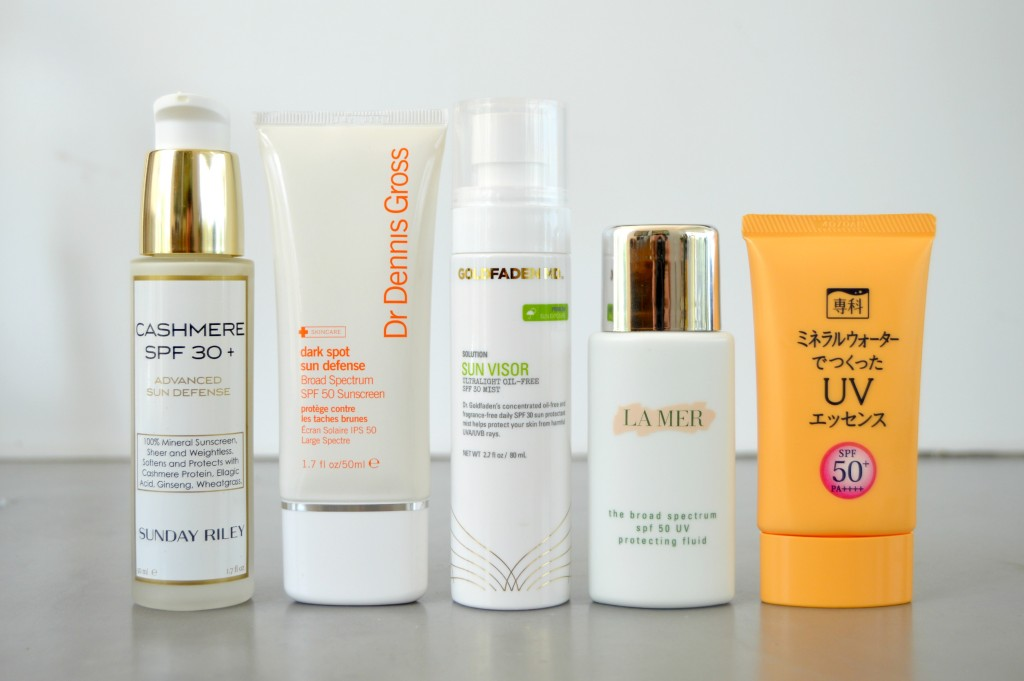 Wear Sunscreen – The Favorite Facial SPF Edit