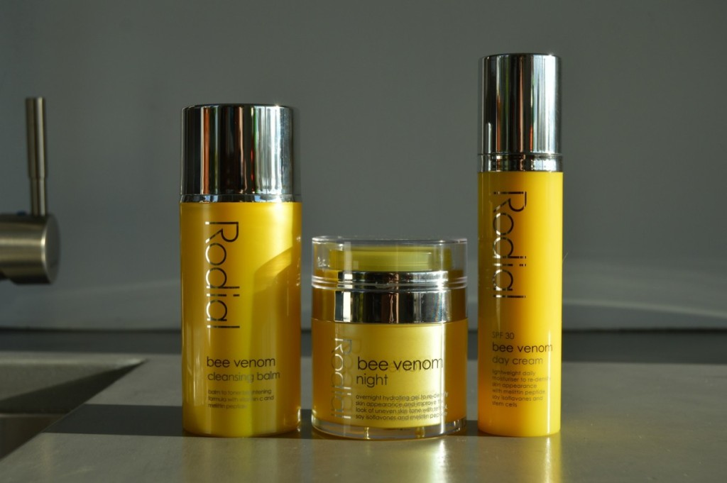 Rodial Bee Venom Newness: Cleansing Balm, Night Gel & Day Cream SPF 30