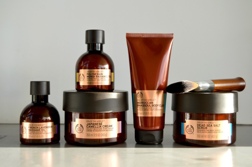 The Body Shop – Spa of the World Collection