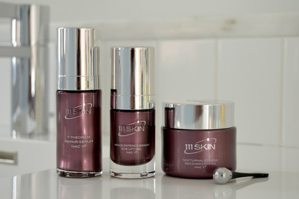 111 SKIN: NAC Y² + ♥ = Repair Serum, Eye Lift Gel, Nocturnal Eclipse Recovery Cream