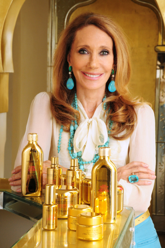 Marisa Berenson Launches Sublime Care – Natural Luxury Cosmetics