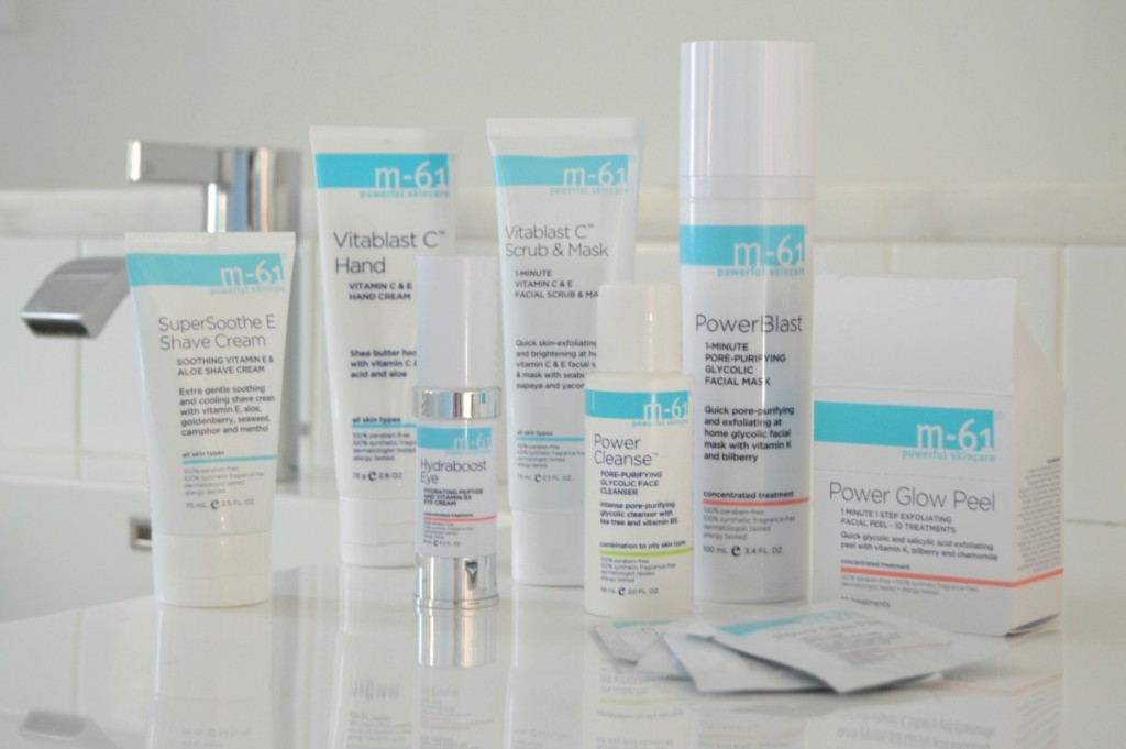 M-61 Skincare Favorites from Bluemercury