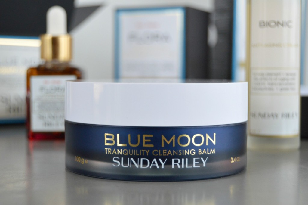 Sunday Riley Blue Moon Tranquility Cleansing Balm (plus Flora and Bionic, too!)