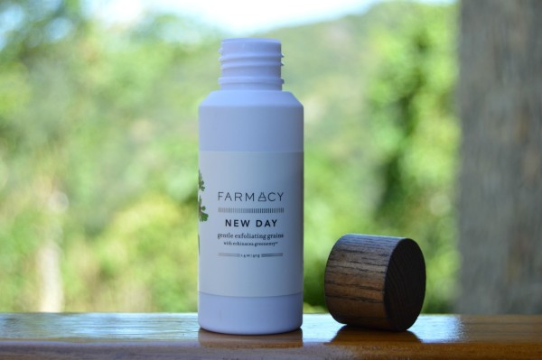 farmacy new day gentle exfoliating grains inhautepursuit review blogger