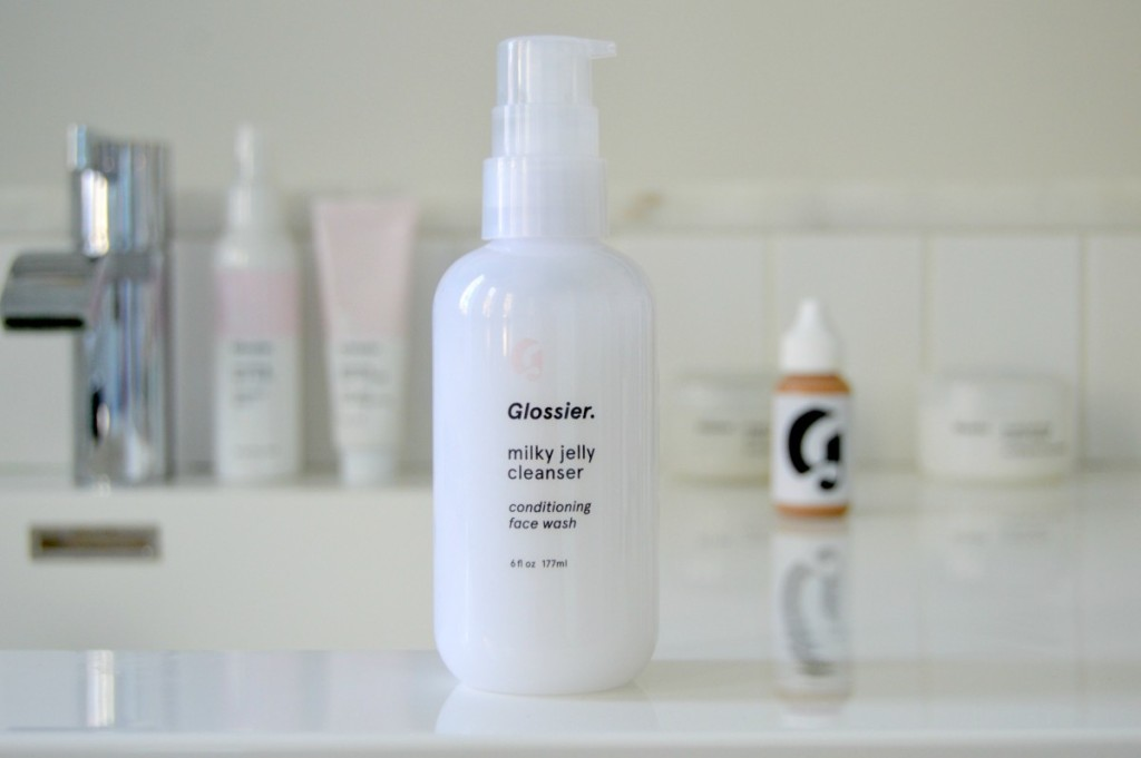 Glossier Milky Jelly Cleanser Conditioning Face Wash
