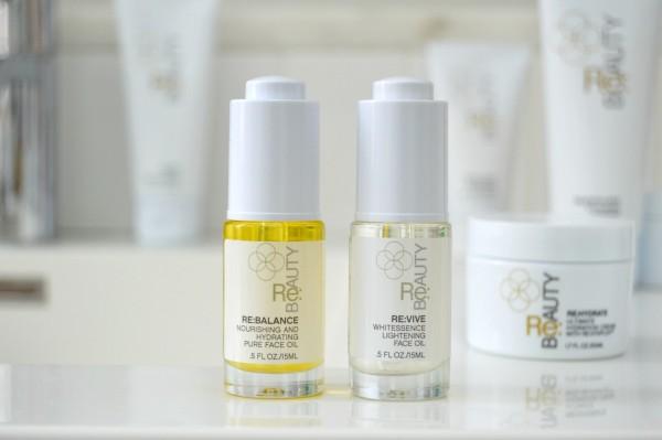 re beauty face oils review