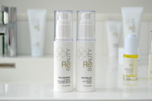 re beauty face serums review rejuvenate revitalize