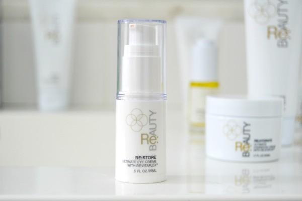 re beauty restore eye cream review