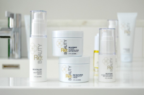 re beauty review skincare range