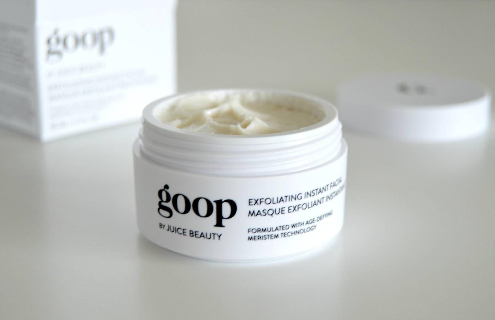 GOOP SKINCARE – Luminous Melting Cleanser & Exfoliating Instant Facial