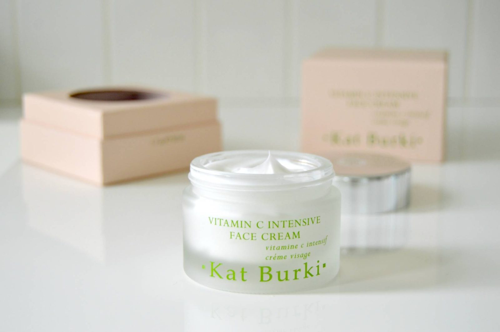 Kat Burki – Vitamin C Nourishing Cleansing Balm & Intensive Face Cream