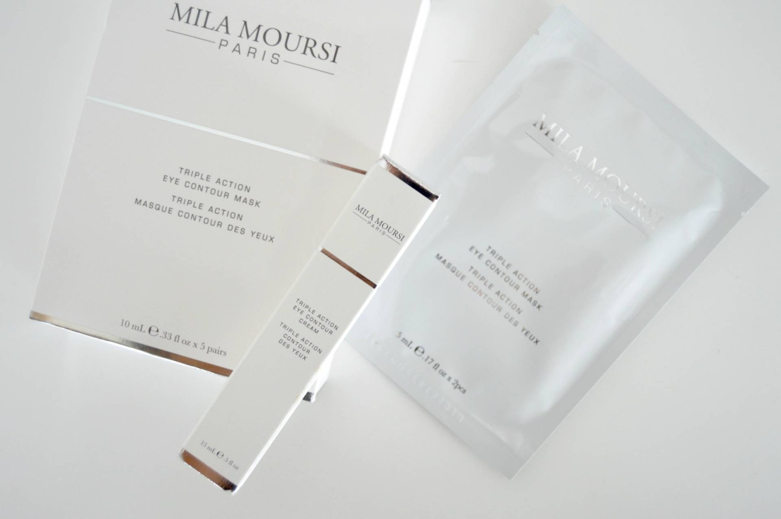 Mila Moursi Triple Action Eye Contour Cream & Mask