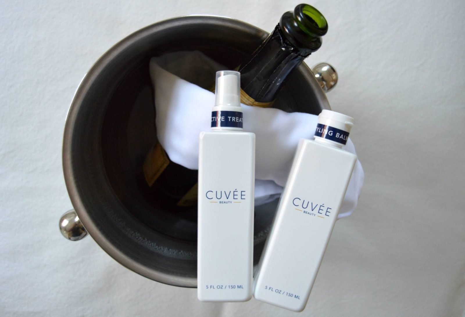 Cuvée Beauty™ – Champagne. White Truffles. Haircare. That's all. And 20% off with code omgbart20!