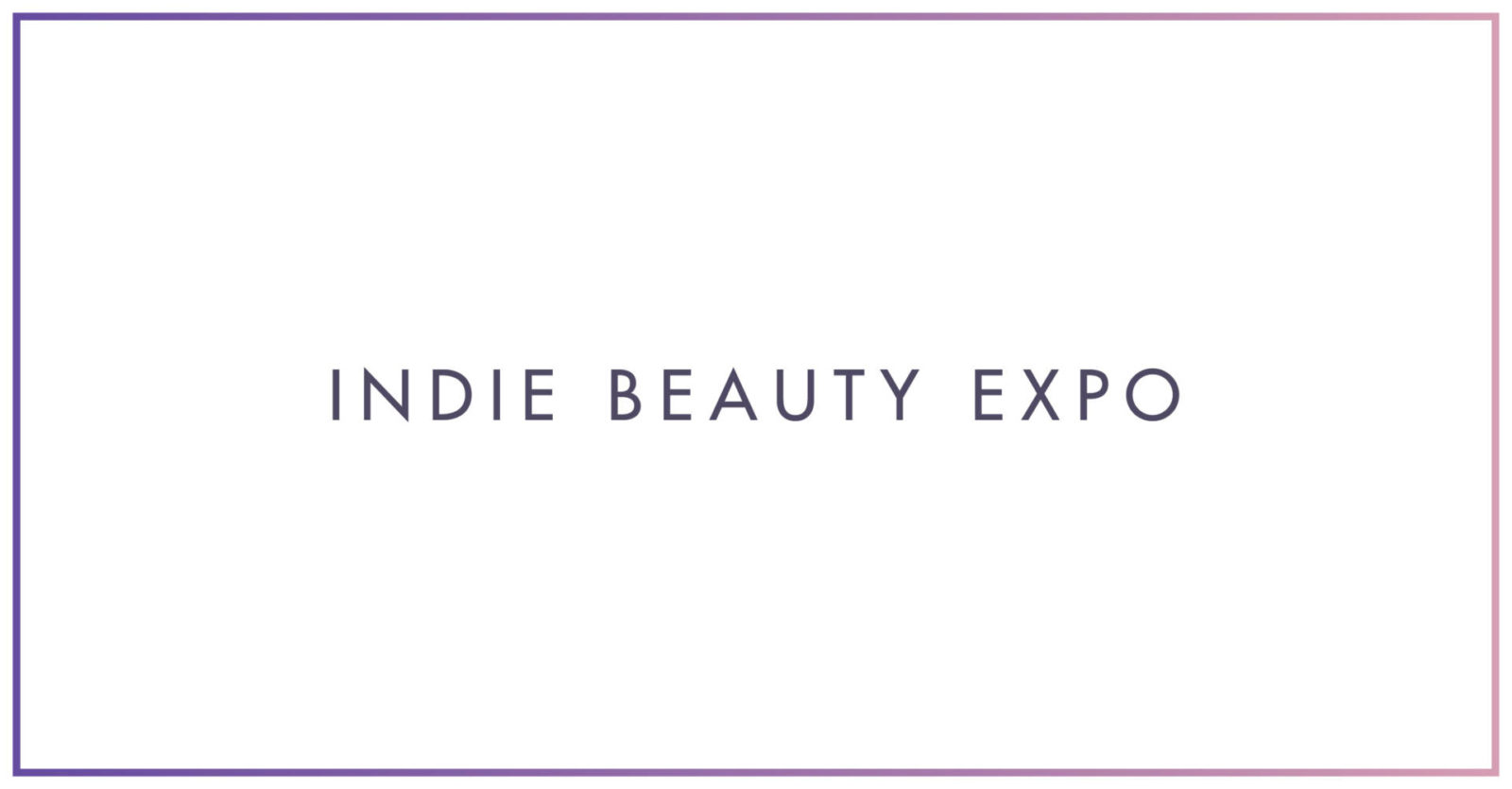 Indie Beauty Expo(sed)