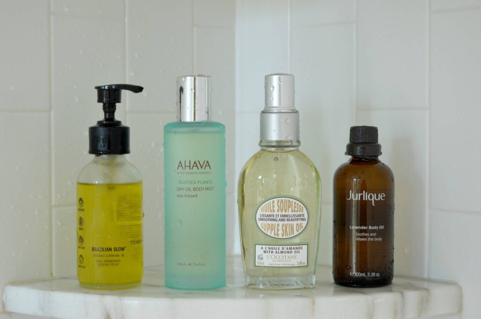 #currentmood: Favorite Body Oils from TEADORA, AHAVA, Jurlique & L'OCCITANE