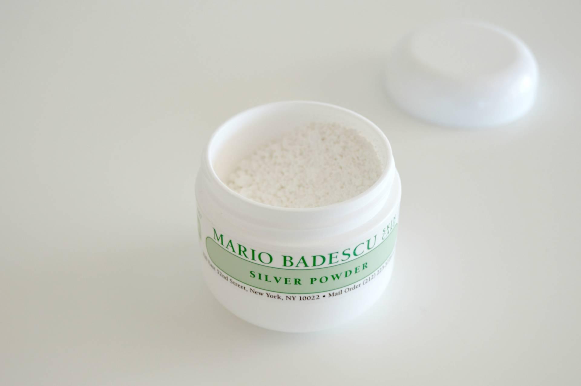 mario badescu silver powder