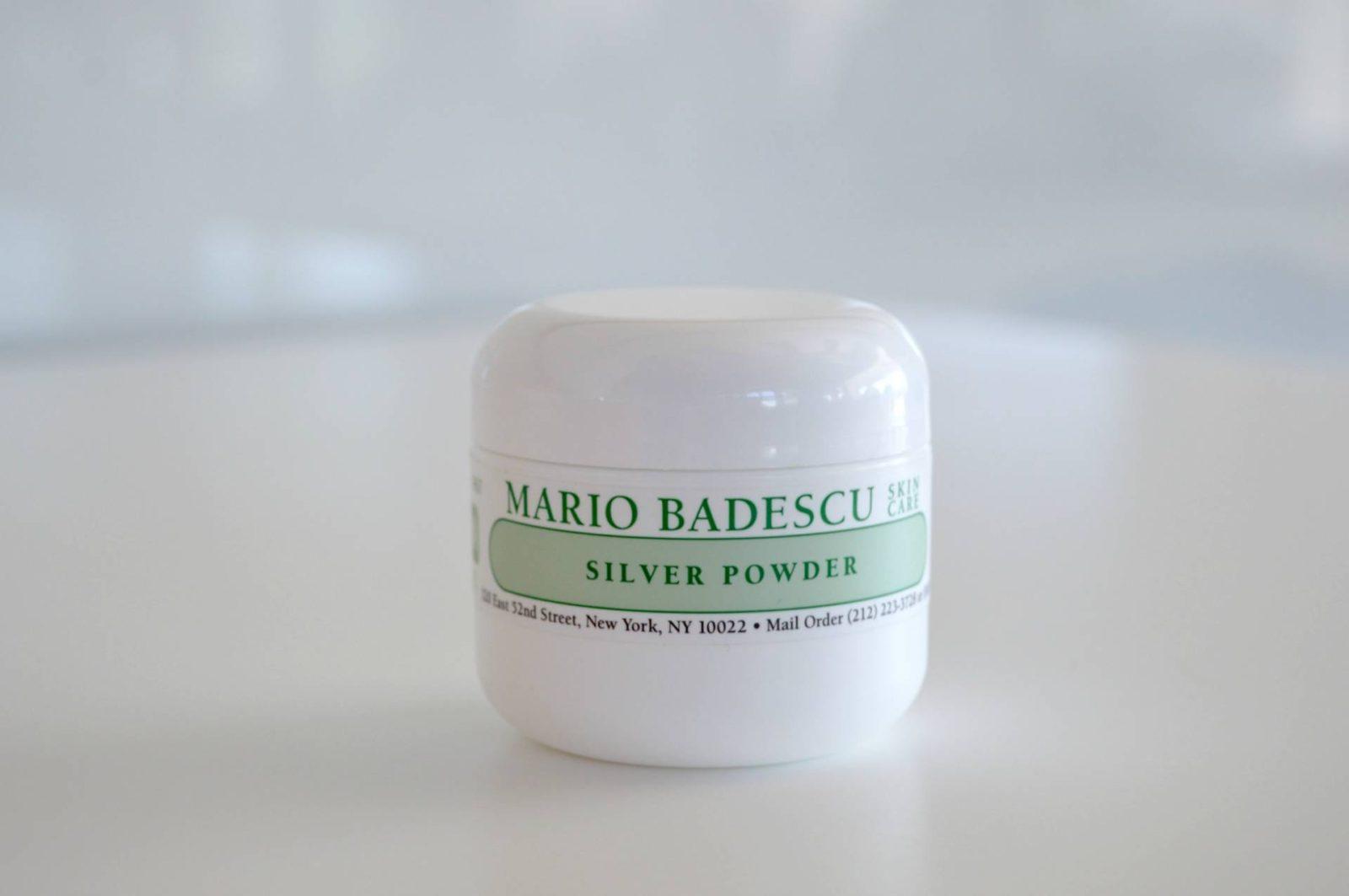 Clogged Pores? Blackheads? Try The Mario Badescu Silver Powder!
