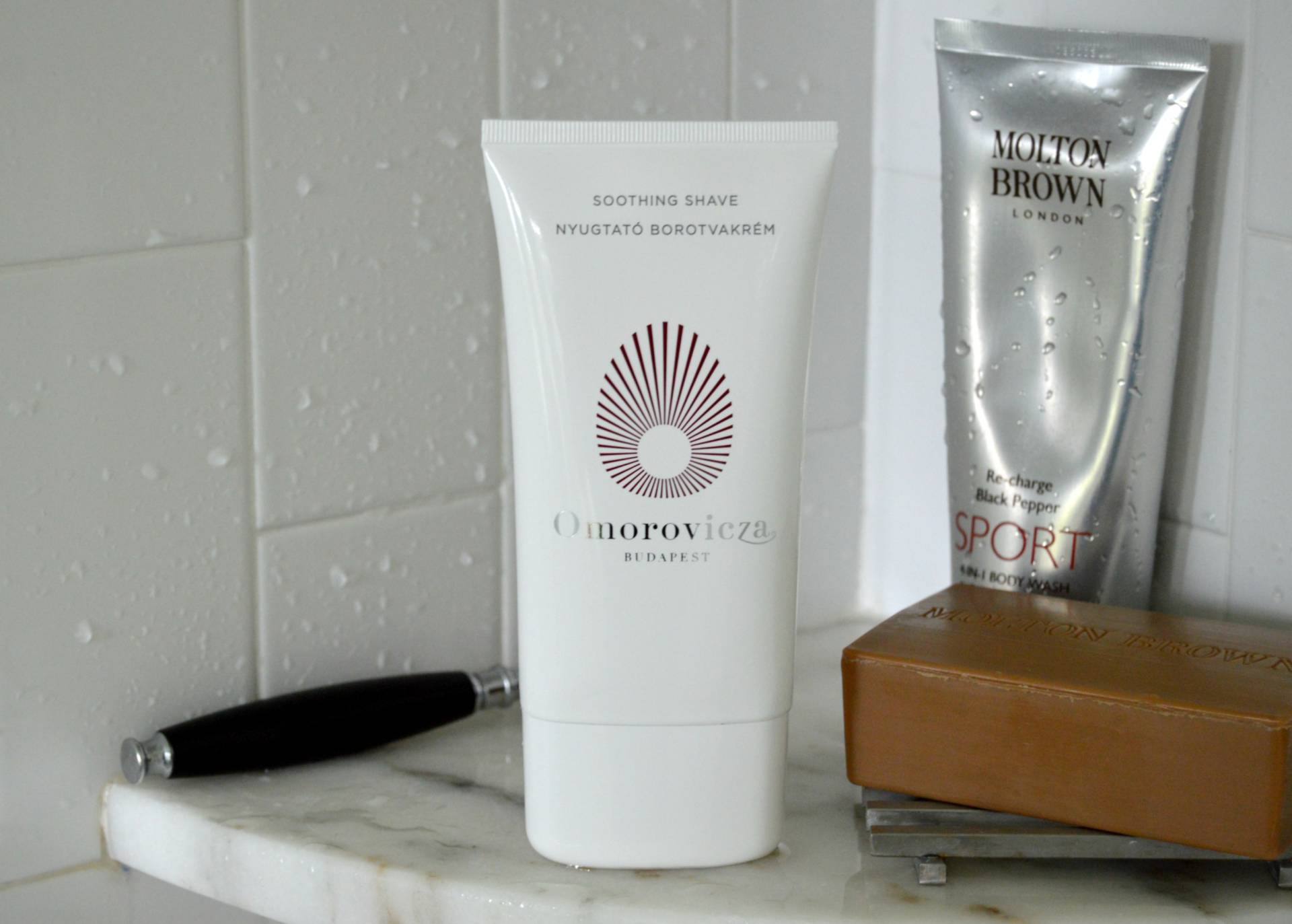 omorovicza soothing shave neiman marcus inhautepursuit national mens grooming day review
