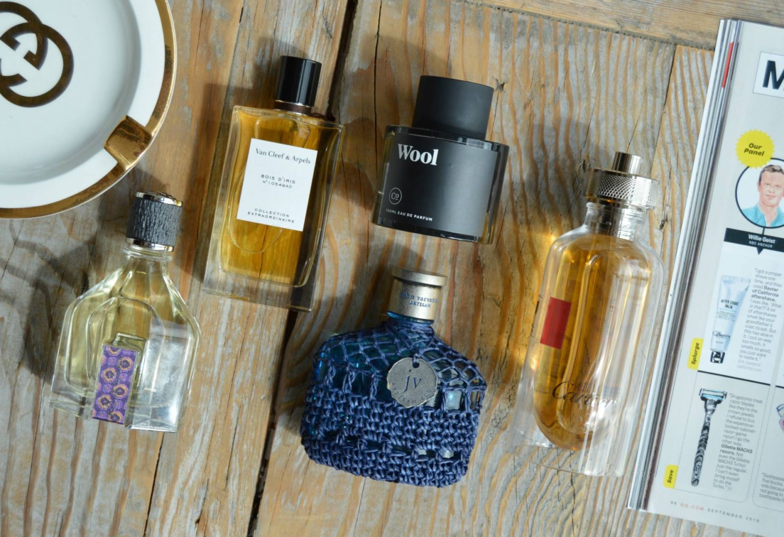 My go-to Fall fragrances ft. Cartier, Commodity Goods, Robert Graham, Van Cleef & Arpels and John Varvatos
