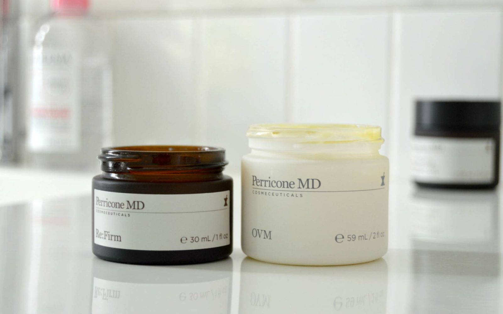 Anti-Aging Daytime Treatments from Perricone MD – Re:Firm & OVM Cream