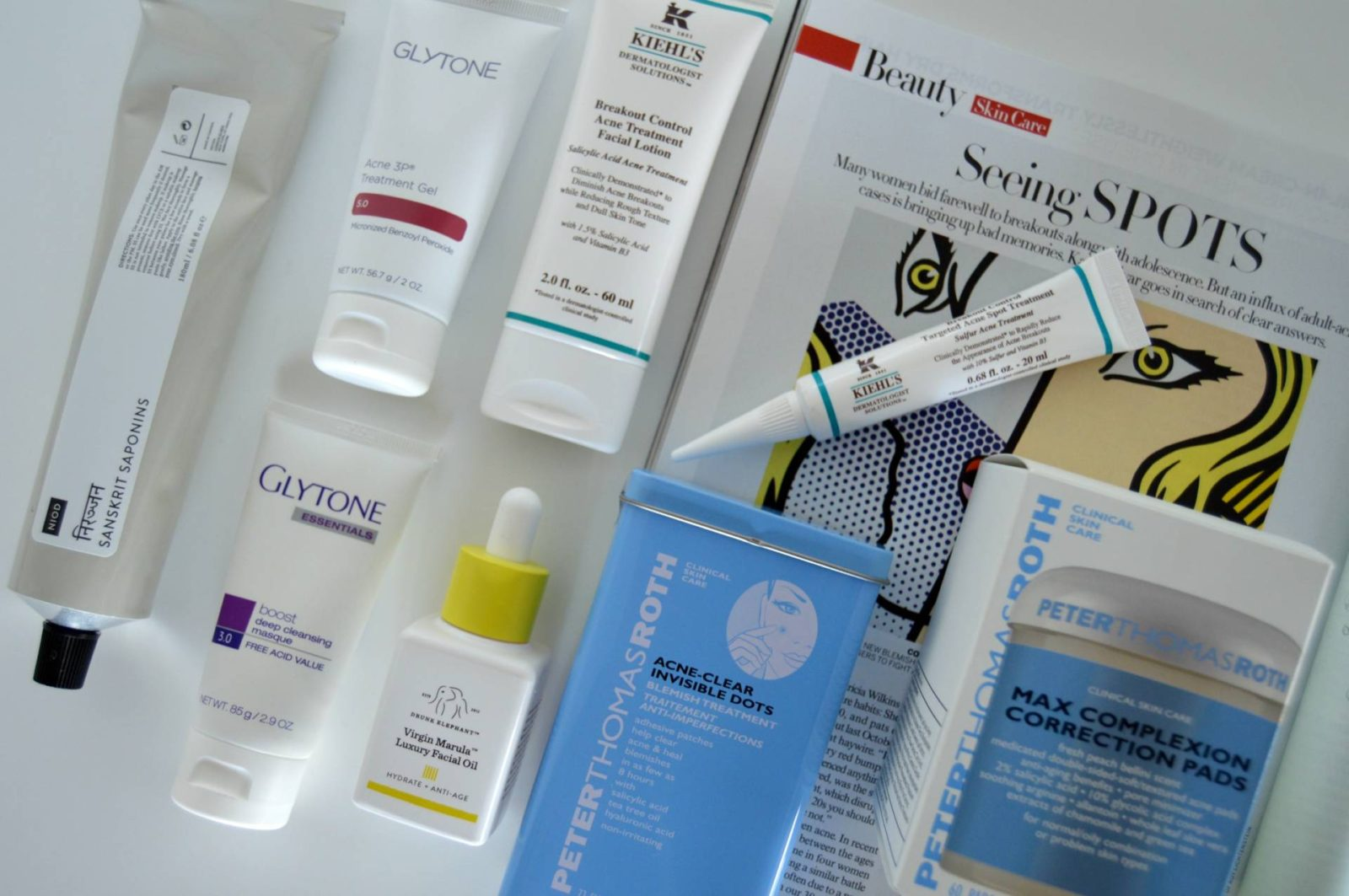 Fighting Blemishes at 36 – Favorite Acne Treatments