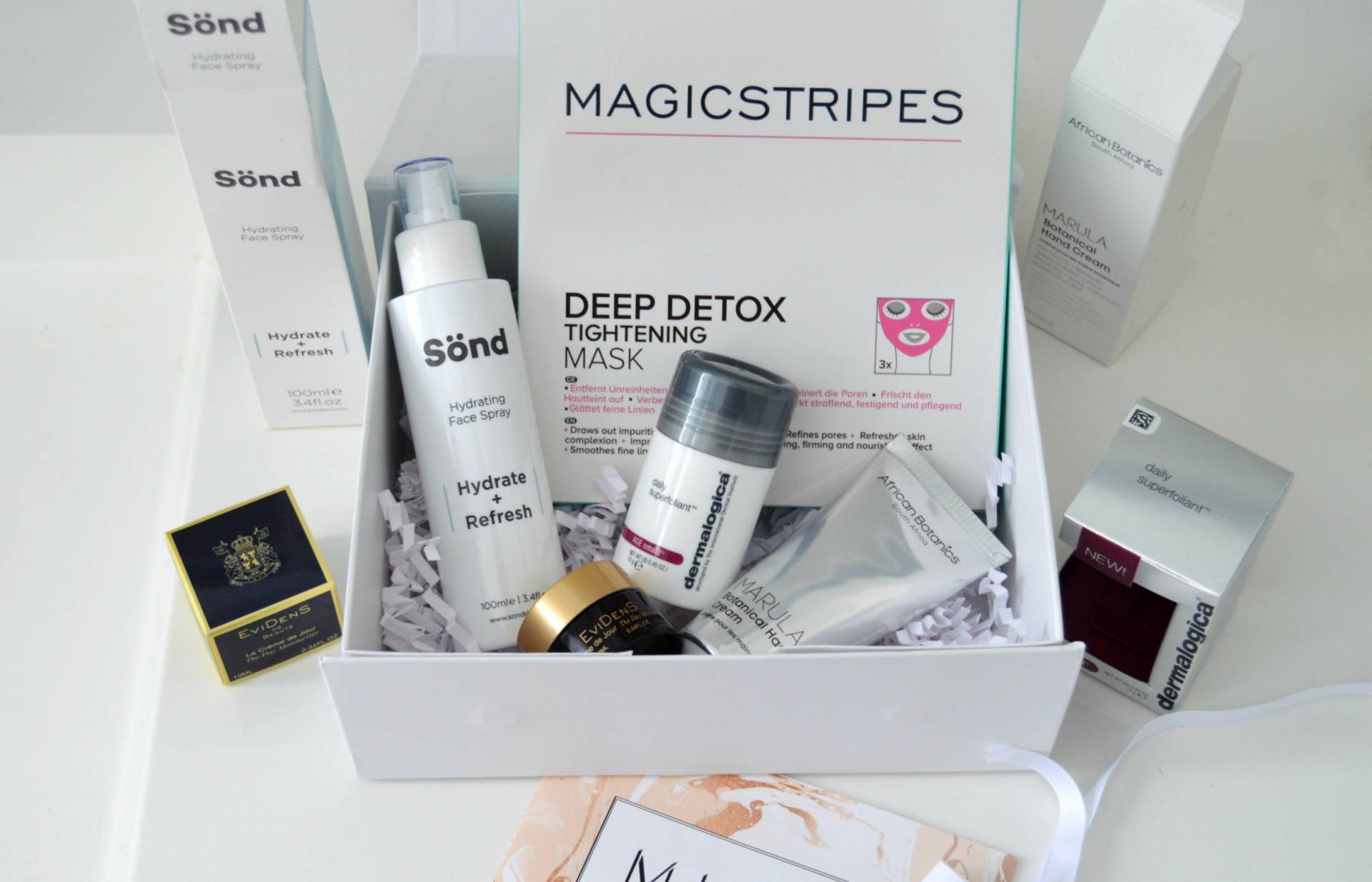 ... mintd box the luxury skincare subscription service you want delivered every month bart ...