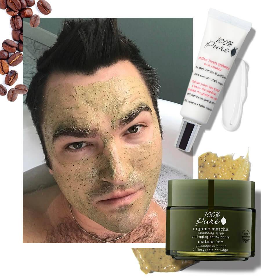 100% Pure – Men's Natural Skincare Routine