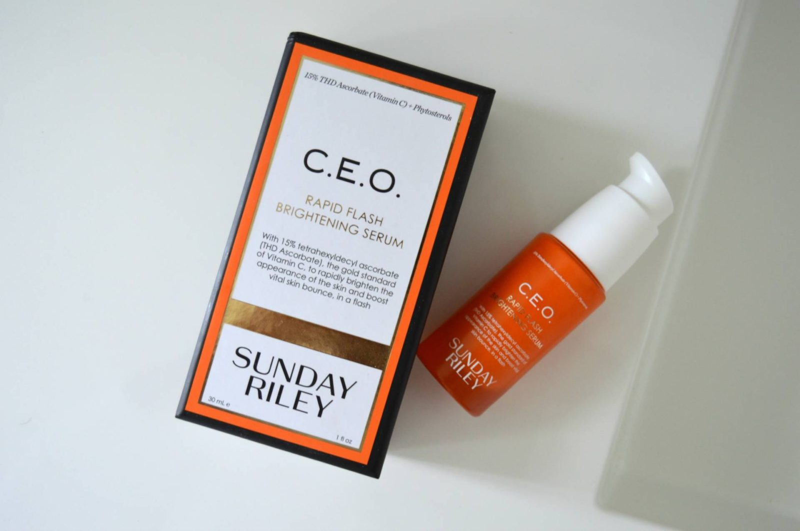 Vitamin C not to b missed: Sunday Riley C.E.O. Rapid Flash Brightening Serum