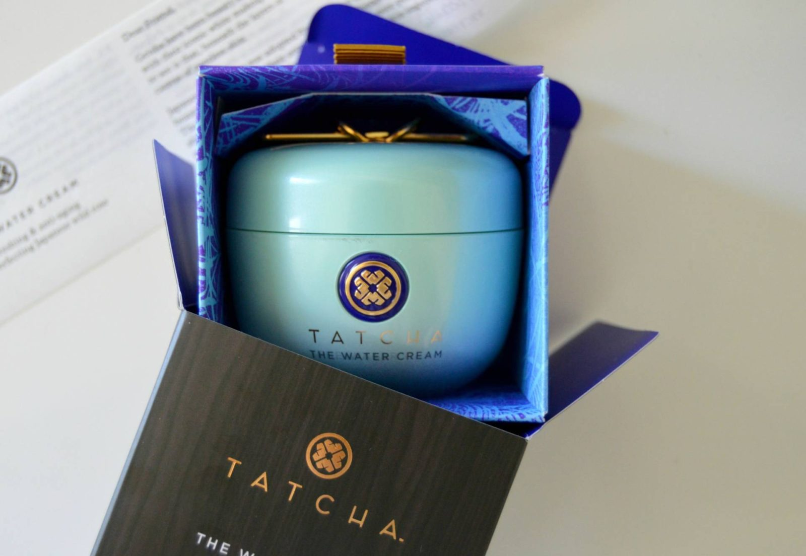 TATCHA The Water Cream – My Oil-Free Moisturizer Upgrade for Spring