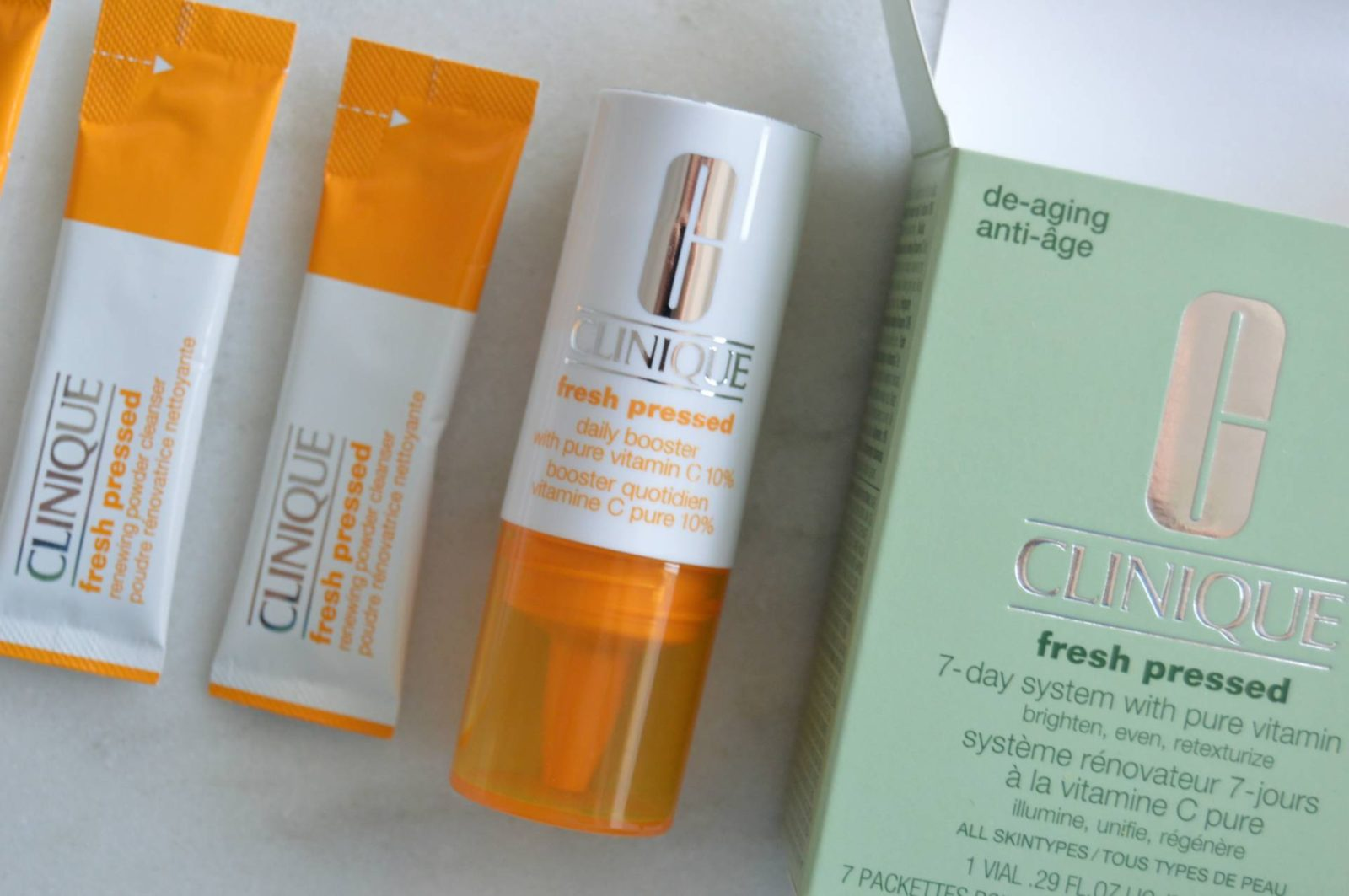 Clinique Fresh Pressed™ Vitamin C 7-Day System – Brighter Skin Is a Week Away (Srsly)