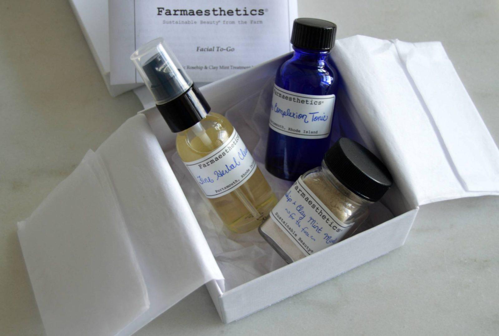 Farmaesthetics Facial To-Go: Spa Grade Travel Essentials