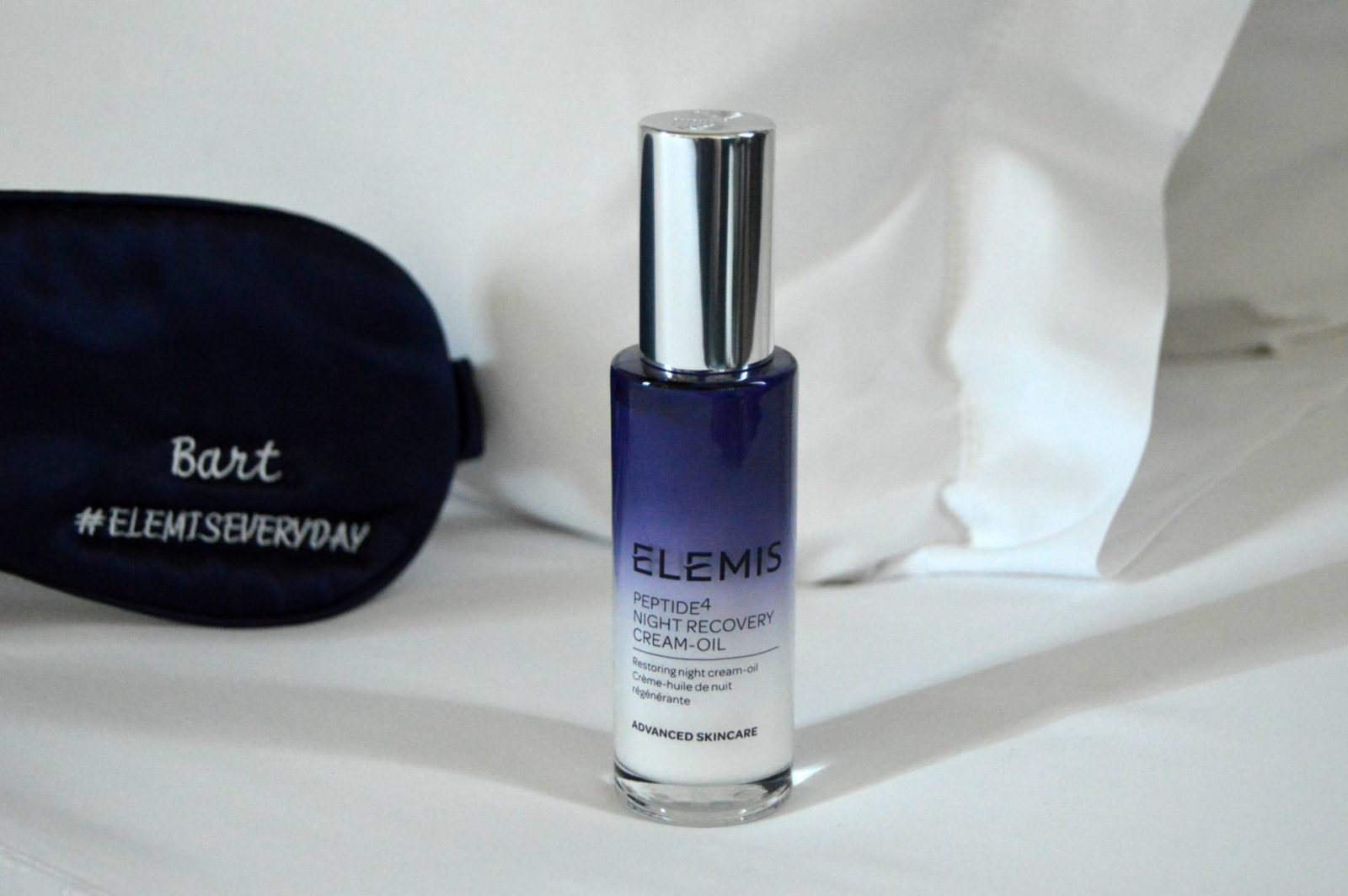 While You Were Sleeping: ELEMIS Peptide⁴ Night Recovery Cream-Oil