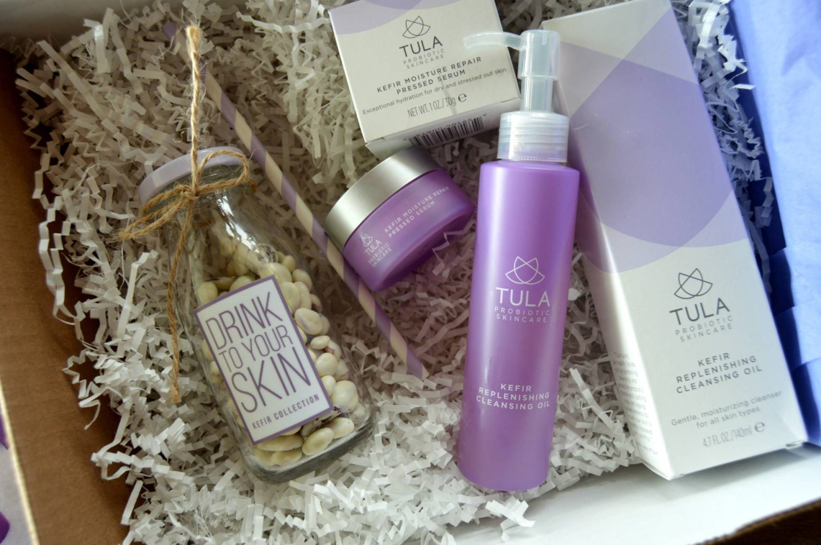 TULA Kefir Cleansing Oil & Pressed Serum (plus an exclusive 20% off code!)