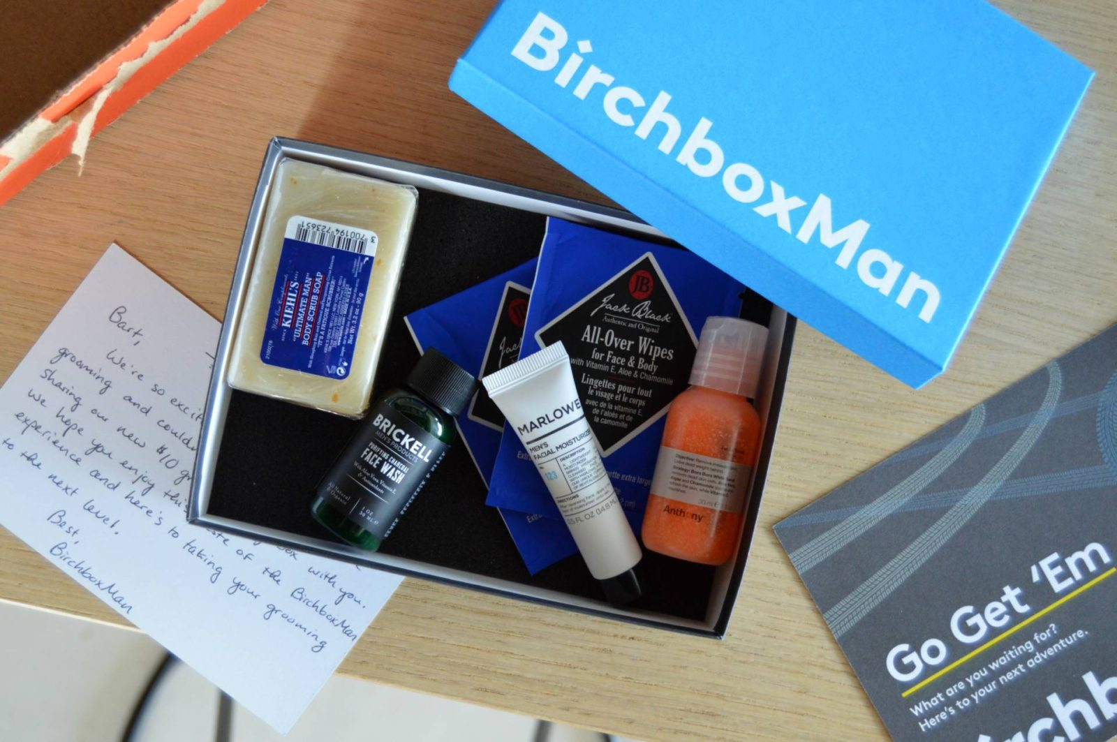 Birchbox Man – Up Your Grooming Game For $10/month