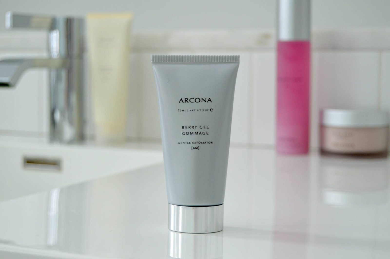 ARCONA BERRY GEL GOMMAGE – THE SUPER GENTLE ENZYME EXFOLIANT HAS ARRIVED! |AD