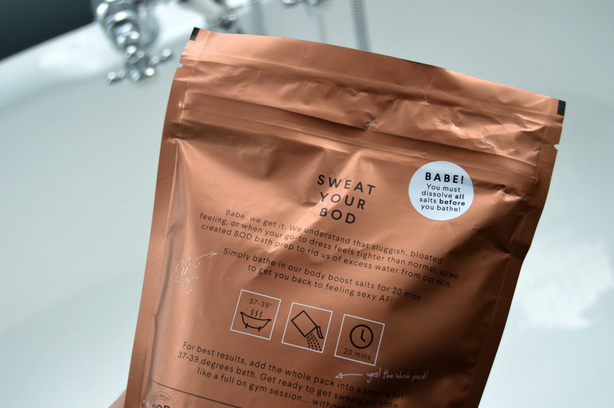 The Bath Soak I Am Completely Obsessed With - OMGBART
